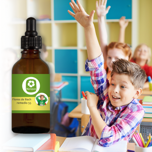 Remedio de Flores de Bach nº 55 Hiperactividad y déficit de atención en niños